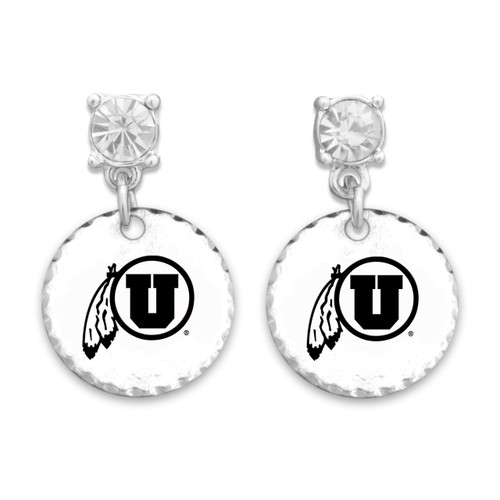Utah Utes Head of the Class Earrings