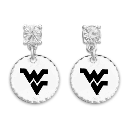West Virginia Mountaineers Head of the Class Earrings