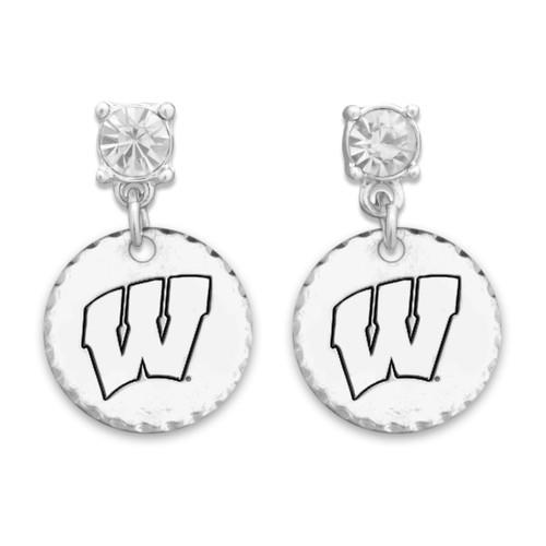 Wisconsin Badgers Head of the Class Earrings