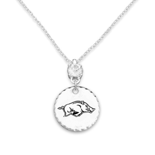 Arkansas Razorbacks Head of the Class Necklace