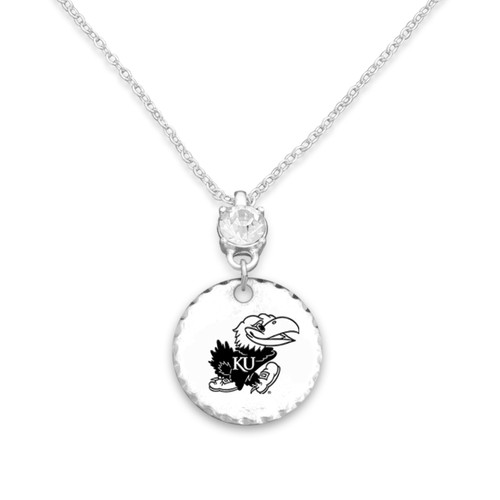 Kansas Jayhawks Head of the Class Necklace