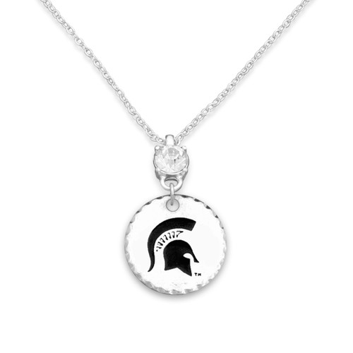 Michigan State Spartans Head of the Class Necklace
