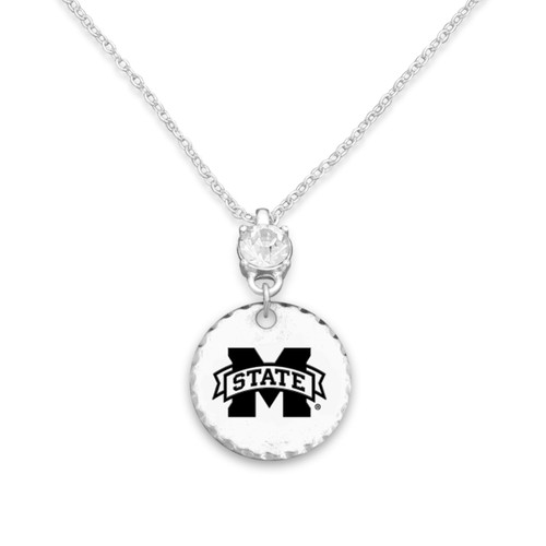 Mississippi State Bulldogs Head of the Class Necklace