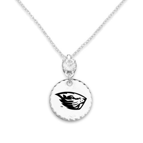 Oregon State Beavers Head of the Class Necklace
