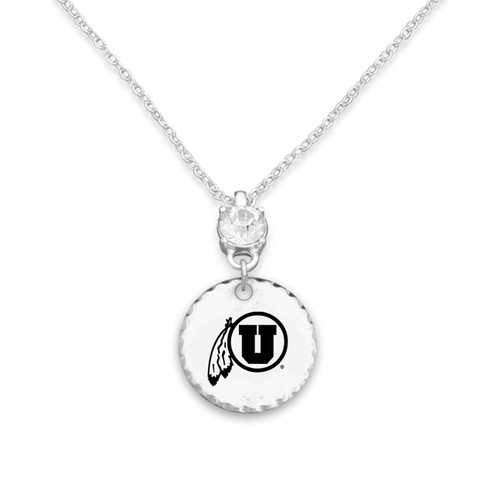 Utah Utes Head of the Class Necklace