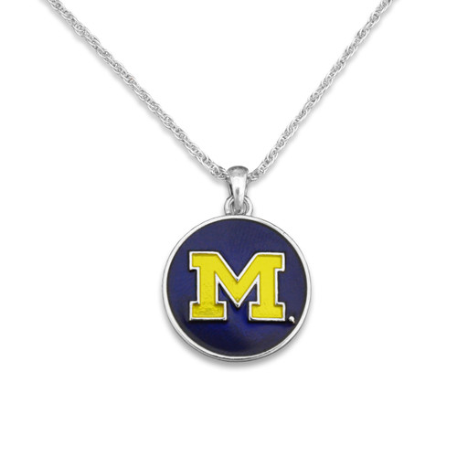 Michigan Wolverines Campus Chic Necklace
