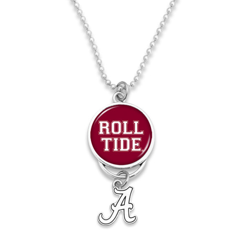 Alabama Crimson Tide Rear View Mirror Charm with College Charm