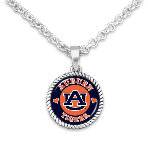 Auburn Tigers Stuck On You Necklace