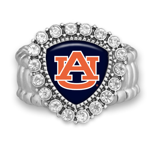 Auburn Tigers Brooke Stretchy Ring