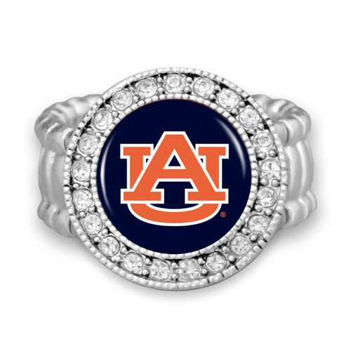 "Auburn Tigers ""Kenzie"" Stretchy College Ring"