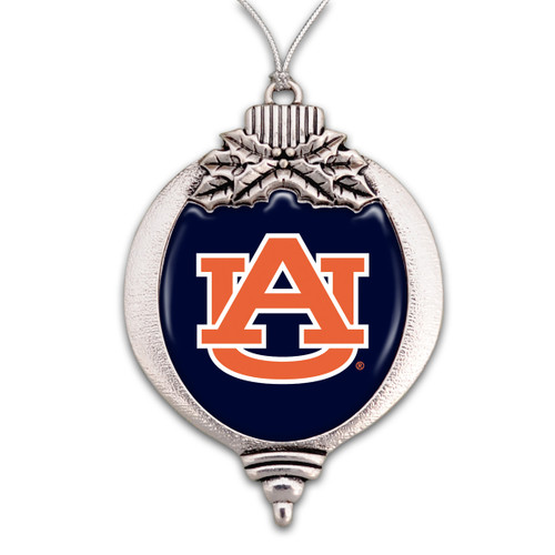 Bulb Auburn Tigers Christmas Ornament
