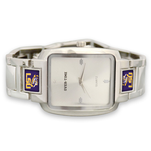 LSU Tigers Men's Dressy Watch