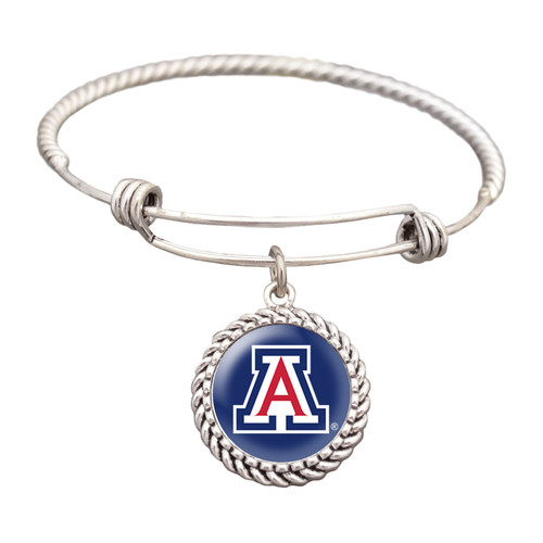 Arizona Wildcats Double Rope Wire Bracelet