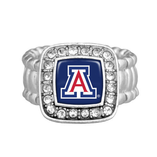 "Arizona Wildcats ""Kassi"" Stretchy Ring"