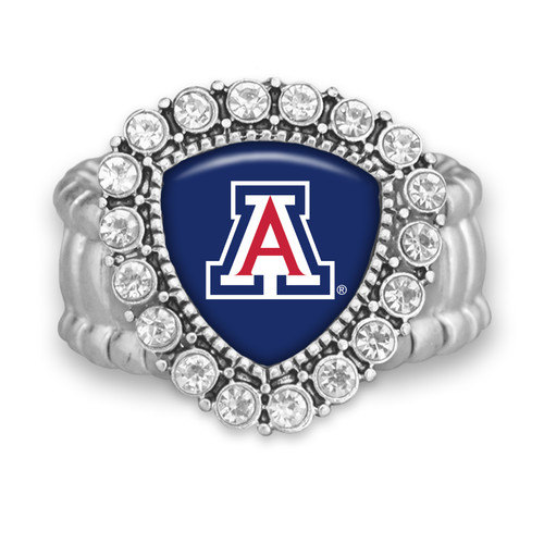 Arizona Wildcats Brooke Stretchy Ring