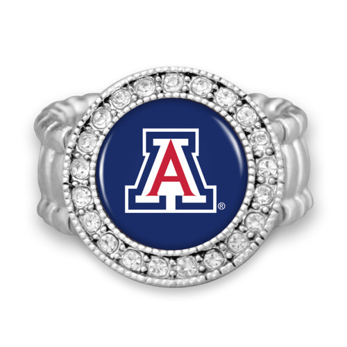 "Arizona Wildcats ""Kenzie"" Stretchy College Ring"