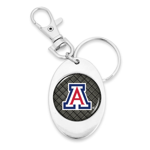Arizona Wildcats Tile Design Key Chain/Zipper Pull
