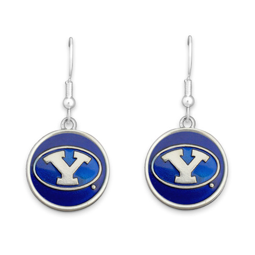 BYU Cougars Society  Earrings