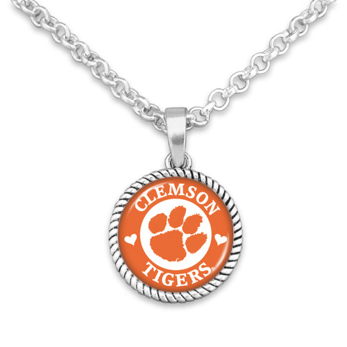 Clemson Tigers Stuck On You Necklace