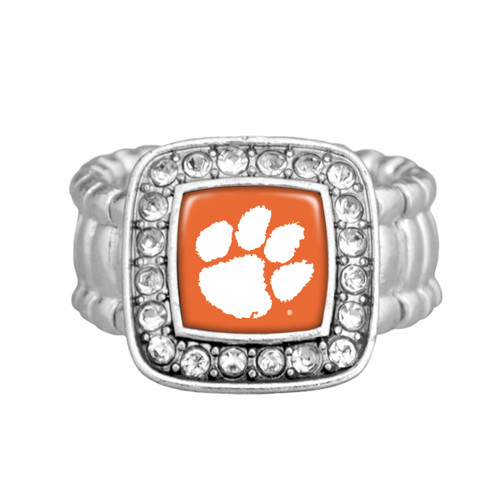 "Clemson Tigers ""Kassi"" Stretchy Ring"