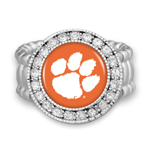 "Clemson Tigers ""Kenzie"" Stretchy College Ring"