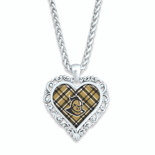 Central Florida Knights Necklace- Plaid