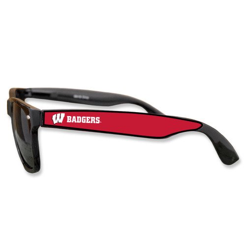 Wisconsin Badgers Retro Sunglasses