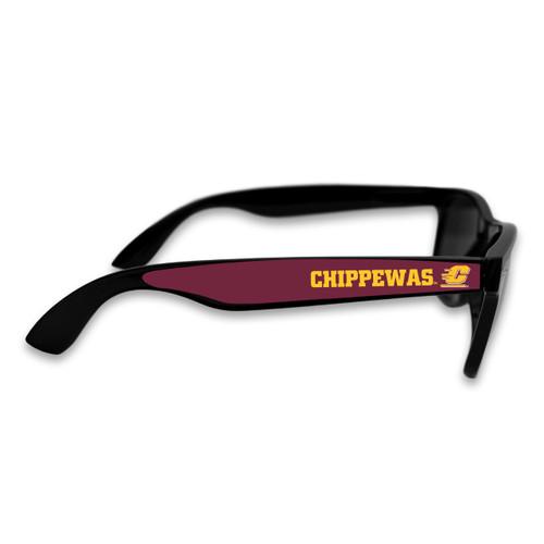 Central Michigan Chippewas Retro Sunglasses