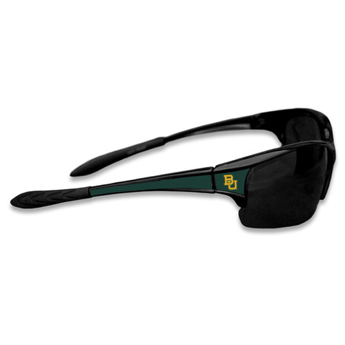 Baylor Bears Sports Rimless College Sunglasses (Black)