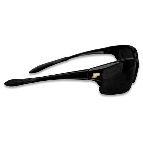 Purdue Boilermakers Sports Rimless College Sunglasses (Black)