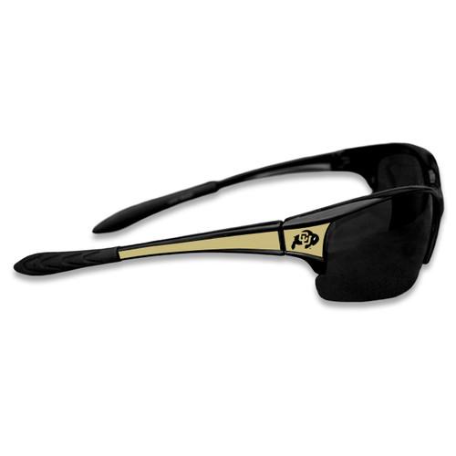 Colorado Buffaloes Sports Rimless College Sunglasses (Black)