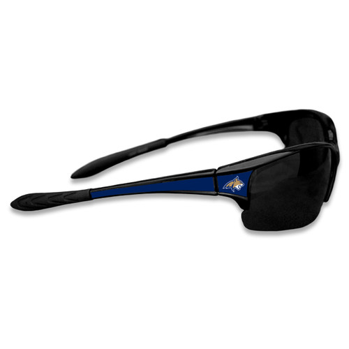 Montana State Bobcats Sports Rimless College Sunglasses (Black)