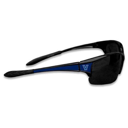 Villanova Wildcats Sports Rimless College Sunglasses (Black)