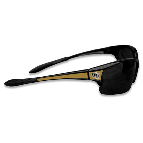 Wake Forest Demon Deacons Sports Rimless College Sunglasses (Black)