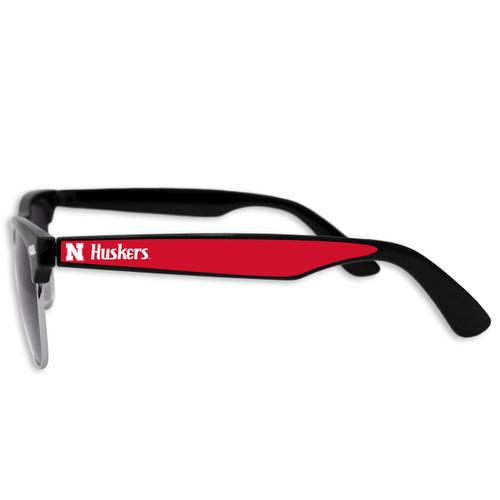 Nebraska Cornhuskers Vintage Unisex Retro College Sunglasses