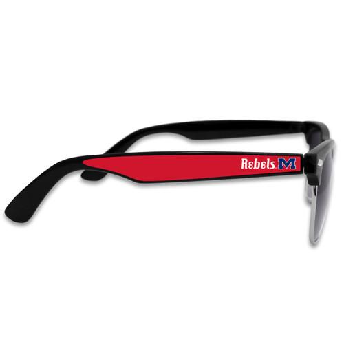 Ole Miss Rebels Vintage Unisex Retro College Sunglasses