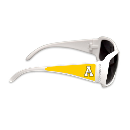 Appalachian State Mountaineers Fashion Brunch College Sunglasses (White)