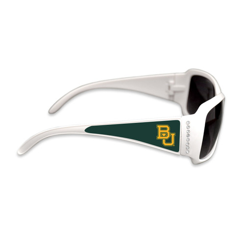 Baylor Bears Fashion Brunch College Sunglasses (White)