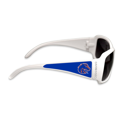 Boise State Broncos Fashion Brunch College Sunglasses (White)