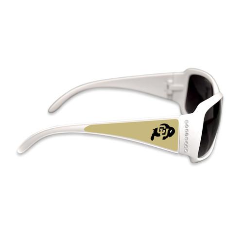 Colorado Buffaloes Fashion Brunch College Sunglasses (White)