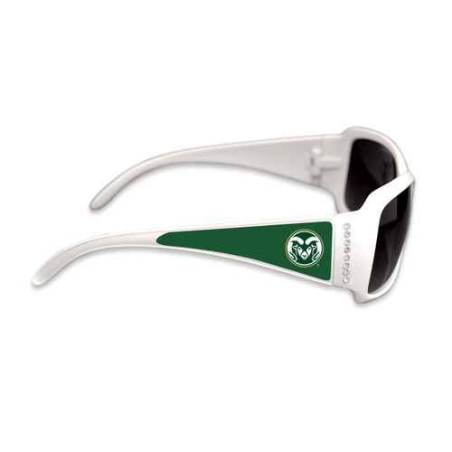 Colorado State Rams Fashion Brunch College Sunglasses (White)