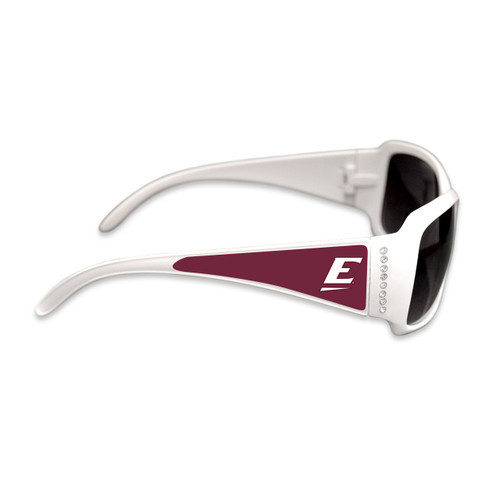 Eastern Kentucky Colonels Fashion Brunch College Sunglasses (White)