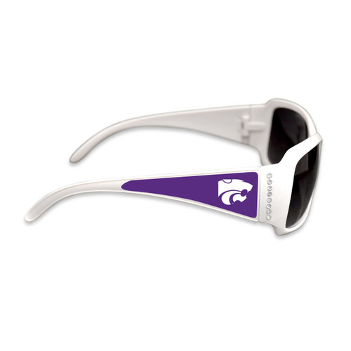 Kansas State Wildcats Fashion Brunch College Sunglasses (White)