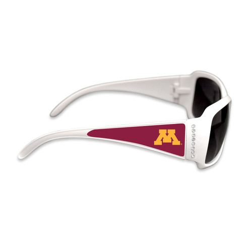 Minnesota Golden Gophers Fashion Brunch College Sunglasses (White)