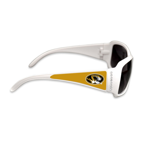 Missouri Tigers Fashion Brunch College Sunglasses (White)