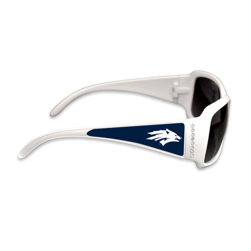Nevada Wolf Pack Fashion Brunch College Sunglasses (White)
