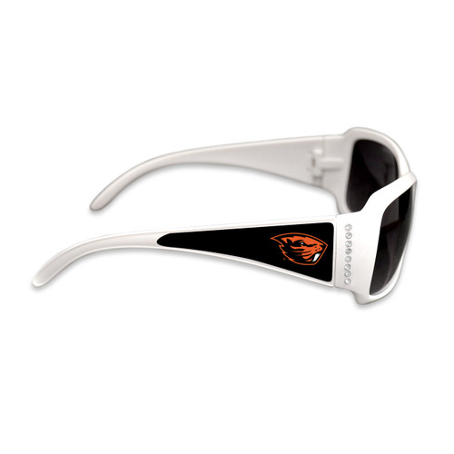 Oregon State Beavers Fashion Brunch College Sunglasses (White)