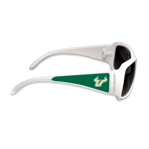 South Florida Bulls Fashion Brunch College Sunglasses (White)