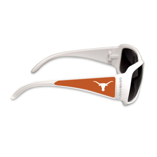 Texas Longhorns Fashion Brunch College Sunglasses (White)