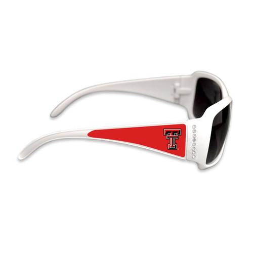 Texas Tech Red Raiders Fashion Brunch College Sunglasses (White)
